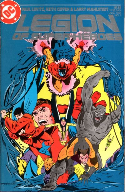 Legion of Super-Heroes (vol. 3) Issue 1